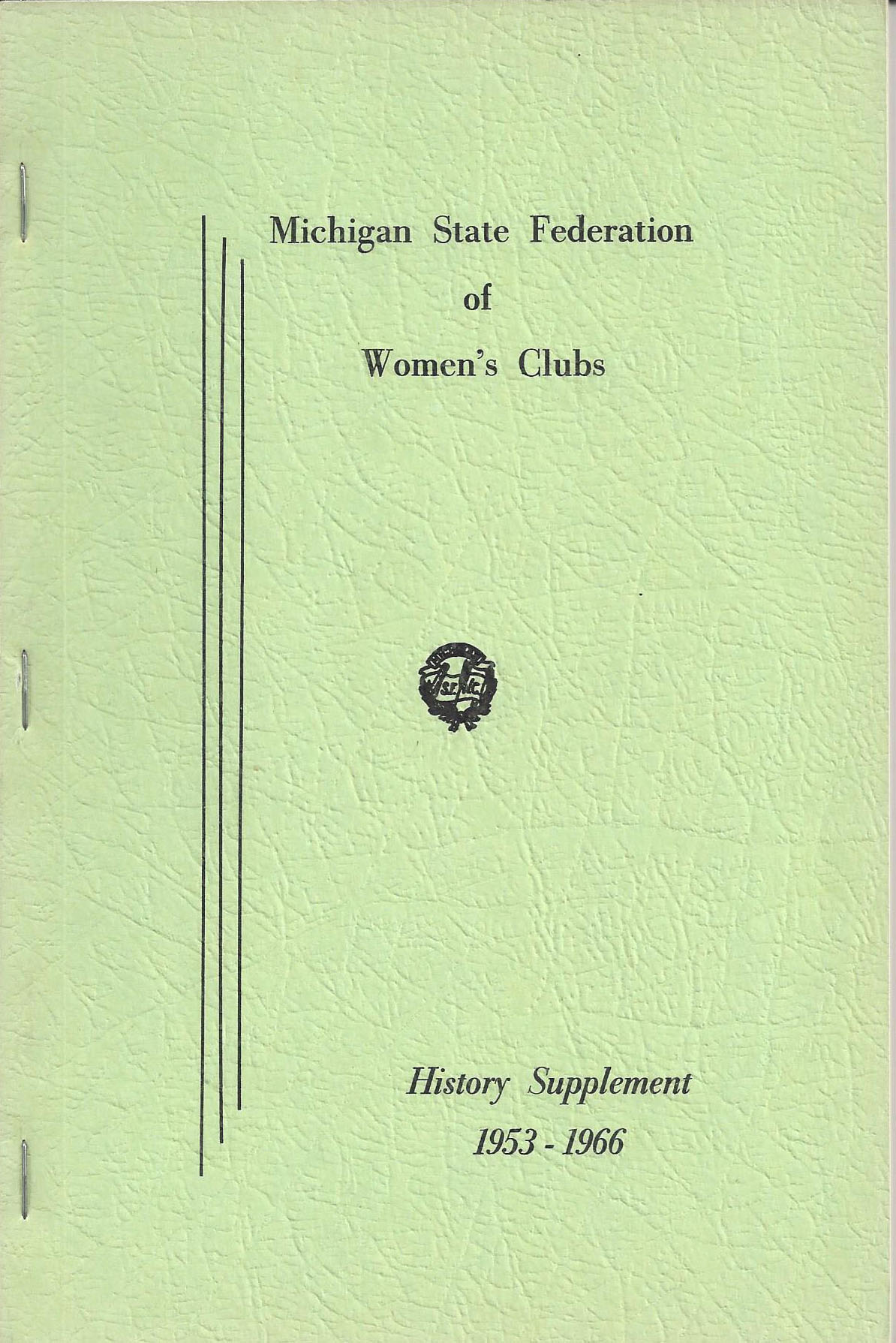 WGFC MI History Supplement 1953-1966